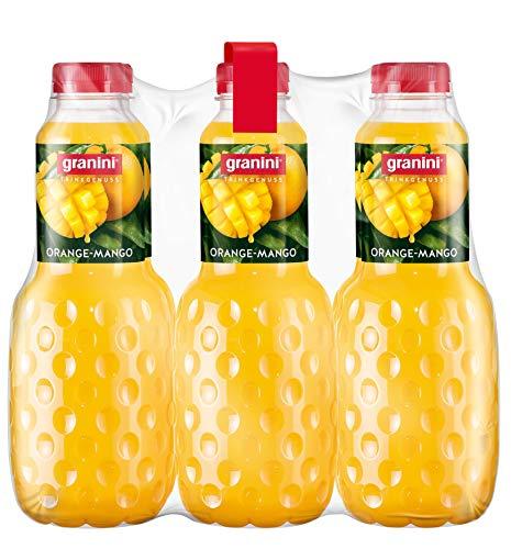 granini Trinkgenuss Orange-Mango, 6er Pack (6 x 1 l) Flasche