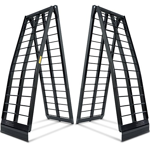 Titan Ramps 10 ft HD Aluminum UTV Wide Loading Ramps