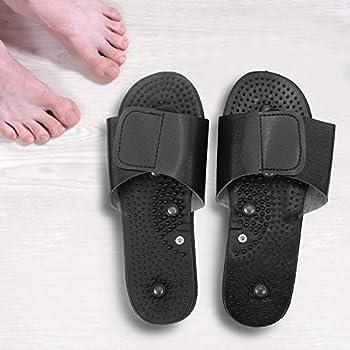 Design riflessologico: la partie supérieure de la chaussure est conçu sur la base des points d'acupuncture du pied humain, qui le rend plus ajustée et l'effet de massage est meilleure. Bon pour la santé: santé, soulager la fatigue physique: favori...
