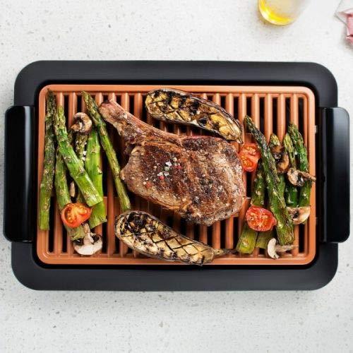 Smokeless Grill - Parrilla sin humo, barbacoa para interiores