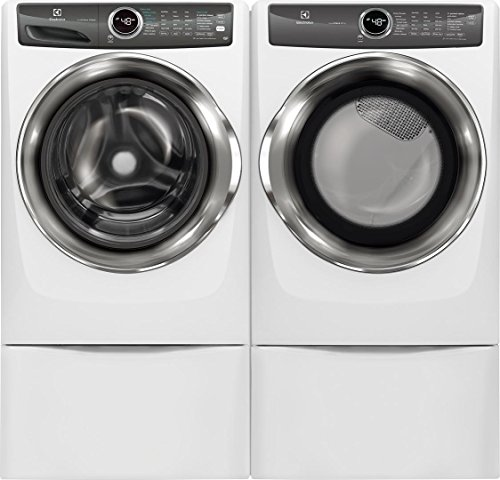 Electrolux EFLS527UIW Washer and EFME527UIW Dryer Bundle