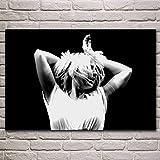 WSHIYI Wandkunst Leinwand Malerei Poster sia Konzert Tanz