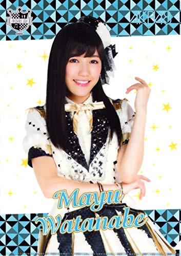 AKB48 渡辺麻友 クリアファイル 1406 CAFE&SHOP