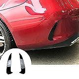 AFGEG Tapa del Ajuste de la Salida de la Salida de Aire del alerón de Parachoques Trasero, Accesorios Estilo de automóviles para Mercedes Benz E Clase E Coupe C238