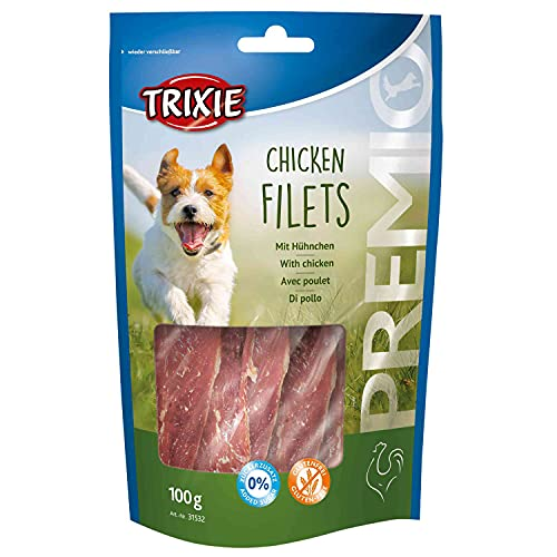 TRIXIE Premio Chicken Filets Friandise pour Chien 100 g