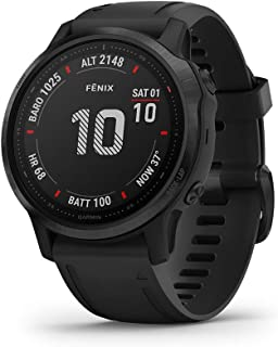$549 » Garmin fenix 6S Pro, Premium Multisport GPS Watch, Smaller-Sized, Features Mapping, Music, Grade-Adjusted Pace Guidance an...