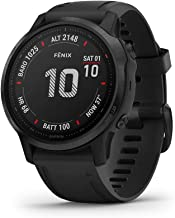Garmin fenix 6S Pro, Premium Multisport GPS Watch, Smaller-Sized, Features Mapping, Music, Grade-Adjusted Pace Guidance an... photo