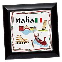 イタリアお土産 | イタリア タイル型 鍋敷き