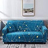 PPOS Funda Suave para sofá Stretch Force Funda para sofá elástica Universal Funda para el hogar Funda para sofá Chaise Funda para sofá A15 Loveseat 145-185cm-1pc