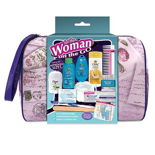Convenience Kits 71 Women's Herbal Essences 14 pc Deluxe Hand Bag