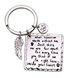 Melix Home Cat Dog Memorial Gifts Keychain Loss of...