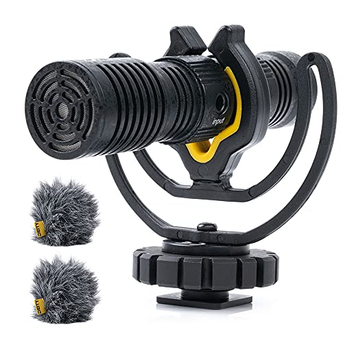 Deity V-Mic D4 Duo Dual Cardioid Interview Mini Microphones,Dual Mono/Stereo Recording for DSLRs Vlog Podcast Interview Video Studio Camera