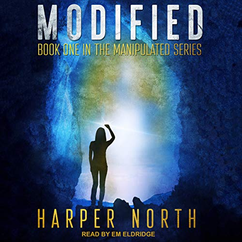 Modified audiobook cover art