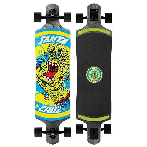 Santa Cruz Skateboards Rob Hand Foot Stop Black Drop Thru Cruzer Skateboard, 10