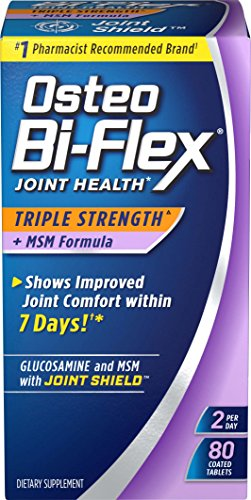 Osteo Bi-Flex Triple Strength w/ MSM, 80 Coated Tablets