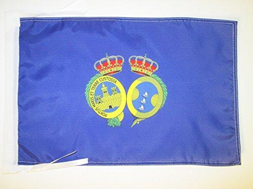 AZ FLAG Bandera de la Provincia DE HUELVA 45x30cm - BANDERINA HUELVA E