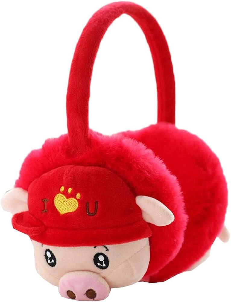 Cute Animal Soft Earmuffs Winter Warm Outdoor Ear Covers Headband Fur Ear warmer,#C20