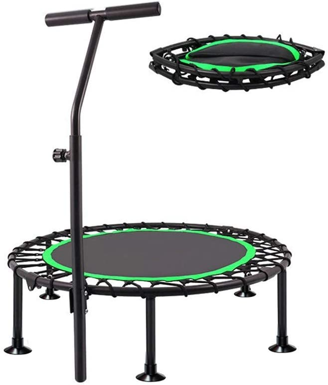 TBTBGXQ 40-inch store Manufacturer direct delivery Mini Sports Trampoline with Adjustable Armrests