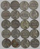 Jefferson Silver War Nickels 1942-1945 35% Silver
