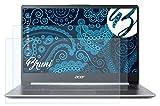 Bruni Schutzfolie kompatibel mit Acer Swift 1 SF114-32 Folie, glasklare Bildschirmschutzfolie (2X)