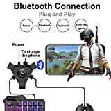 TEQIN PUBG Mobile Gamepad Controller Gaming Keyboard Mouse Converter for Android Phone to