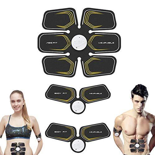 ZXL Intelligente tragbare ultimative Bauchmuskelmassage Abnehmen der Muskeln auf Bauch Arm und Bein Trainer