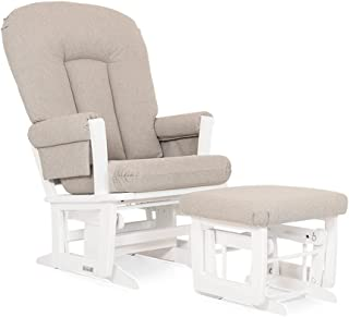 Dutailier Rose 0188 Glider Chair with Ottoman