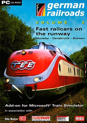 German Railroads, Vol. 2 - Fast railcars on the runway - Munster - Osnabruck - Bremen