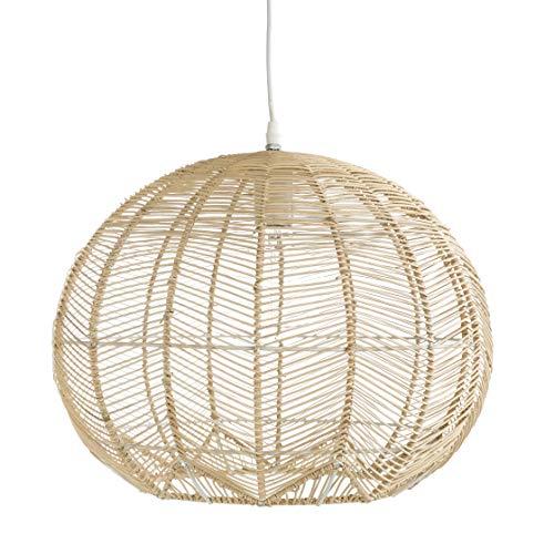 Kenay Home Mert Lámpara de Techo Decorativa, Color Natural