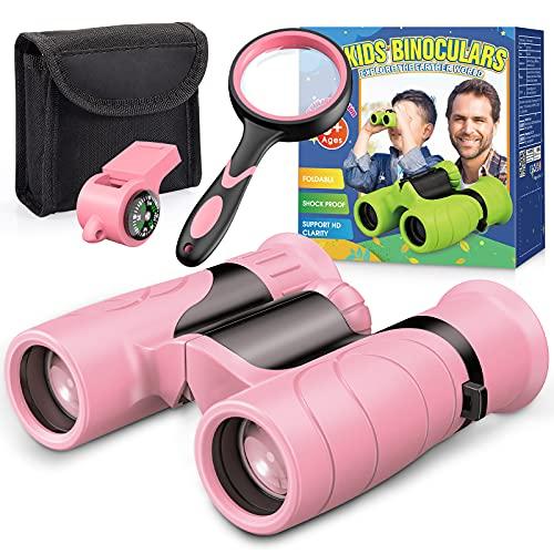 BOXYUEIN Mädchen Geschenke 4-12 Jahre, Fernglas Kinder Spielzeug Mädchen 3 4 5...