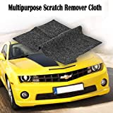 Bamoer [2 Pack] Multipurpose Scratch Repair Cloth,Car Paint Swirl Remover,Polish & Paint Restorer - Easily Repair Paint Scratches, Scratches, Water Spots! Light Scratch Repair for Cars