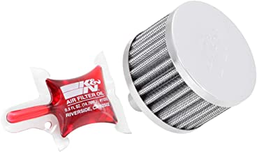 K&N Vent Air Filter / Breather: Washable and Reusable: 0.75 in (19 mm) Flange ID; 2 in (51 mm) Height; 3 in (76 mm) Base; 3 in (76 mm) Top , 62-1160