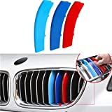TOPGRIL M-Colored Stripe Grille Insert Trims M Sport Grille Insert Trim Strips...
