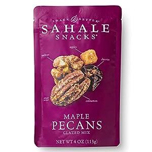 Sahale Snacks Maple Pecans Glazed Mix, 4 Ounces (Pack of 6)