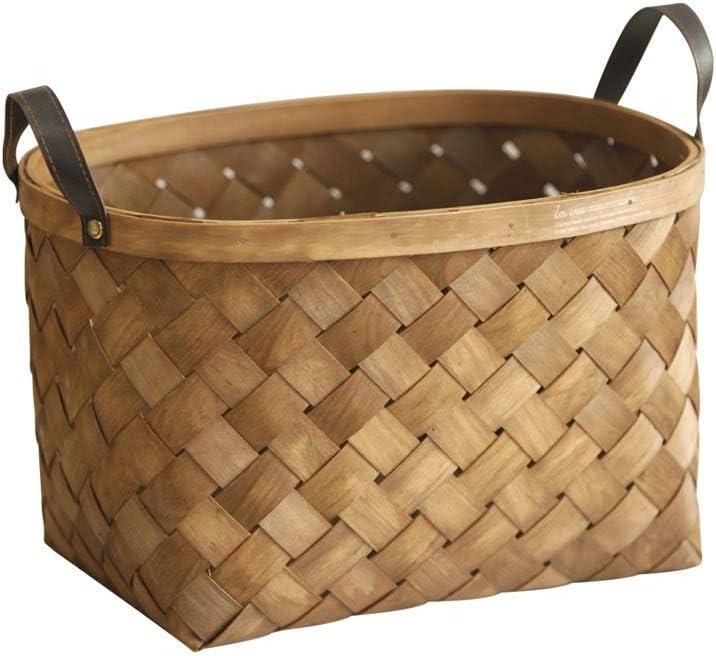 Handmade Bamboo Woven Storage Basket B Portable Brand Cheap Sale Venue Desktop Shopping Reservation
