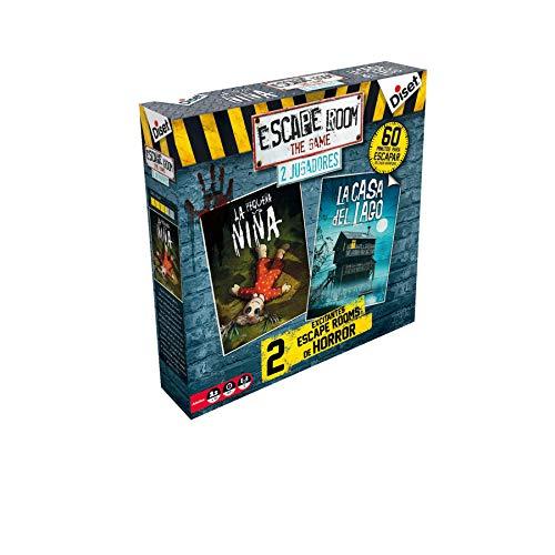 Diset - Escape Room - 2 Jugadores Terror Juego de Mesa, Multicolor, 62318