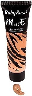 RUBY ROSE MATTE LIQUID FOUNDATION, 8073 Color 4-30ml