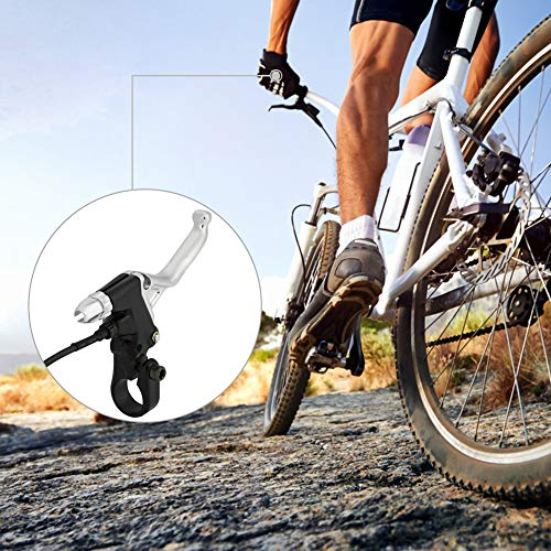 Alomejor 1 Paar Bremslenkergriff Aluminiumlegierung Bremshebel für Elektrofahrrad E-Bike - 5