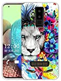 Sunrive Kompatibel mit DOOGEE S90 Hülle Silikon, Transparent Handyhülle Schutzhülle Etui Hülle (X Löwe)+Gratis Universal Eingabestift MEHRWEG