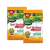 Scotts VB02157 Turf Builder Fall Weed & Feed 3-5,000 Winterguard, 5,000 sq. ft. (2-Pack)