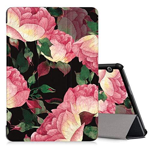 ZhuoFan Hülle für Huawei MediaPad T5 10 Tablette, MediaPad T5 10 10,1