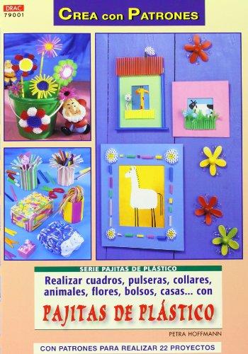 REALIZAR CUADROS, PULSERAS, COLLARES, ANIMALES, FLORES, BOLSOS, CASAS... CON PAJITAS DE PLÁSTICO (Cp - S.Pajitas De Plastico)