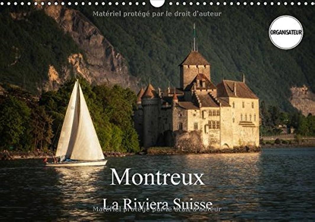 剥離麺ダブルMontreux, La Riviera Suisse 2017: Une Promenade Le Long Du Lac De Geneve a Montreux (Calvendo Places)