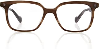 Kingsley Rowe Nolan: Unisex, Square, Classic, Retro, Nerd, Large, Optical Glasses Frames
