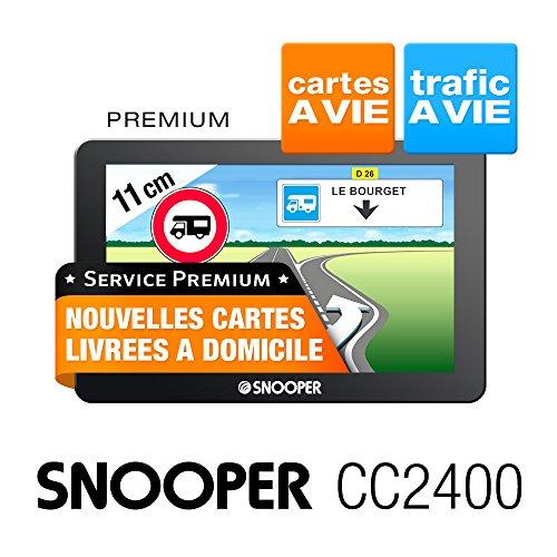Snooper cc2400GPS Auto-Central Europe (:–10,9cm Bildschirm 4GB schwarz