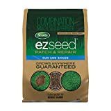 Scotts EZ Seed Patch and Repair Sun and Shade - 20 lb., Combination Mulch, Seed, and Fertilizer, Repairs Bare Spots, Includes Tackifier to Reduce Seed...