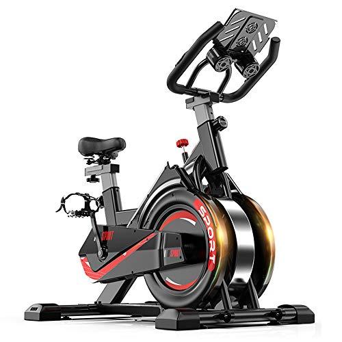 AMBM Heimtrainer Spinning Bike Indoor Studio Fahrrad Trainer Bike Fitness Cycling mit verstellbarem Lenker & Sattel