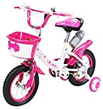 Actionbikes Kinderfahrrad Daisy - 12 Zoll – V-Break Bremse vorne - Stützräder - Luftbereifung -...