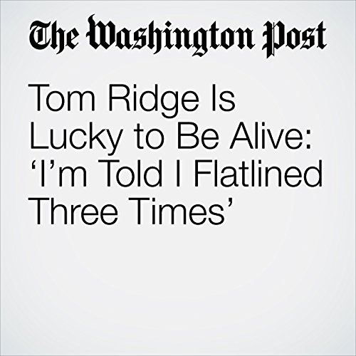 Tom Ridge Is Lucky to Be Alive: 'I'm Told I Flatlined Three Times' copertina