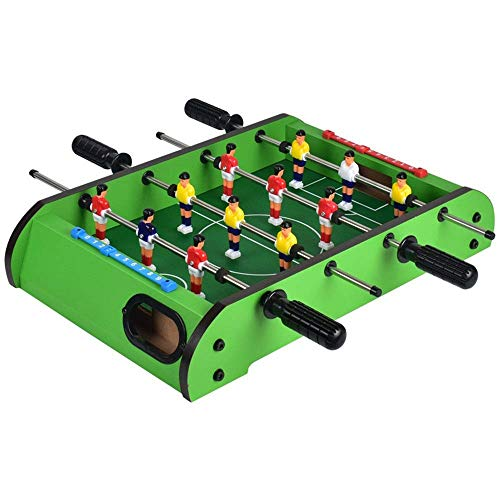 Sale!! CJVJKN Folding Table Football, Compact Mini Game Football Table Adult and Children's Leisure ...
